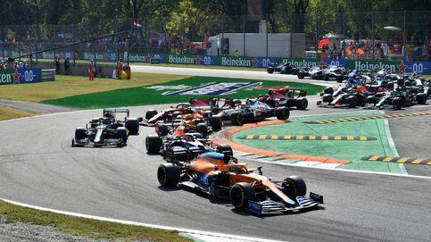 En directo F1   Sainz se libra de un accidente con Giovinazzi y Ricciardo da la sorpresa