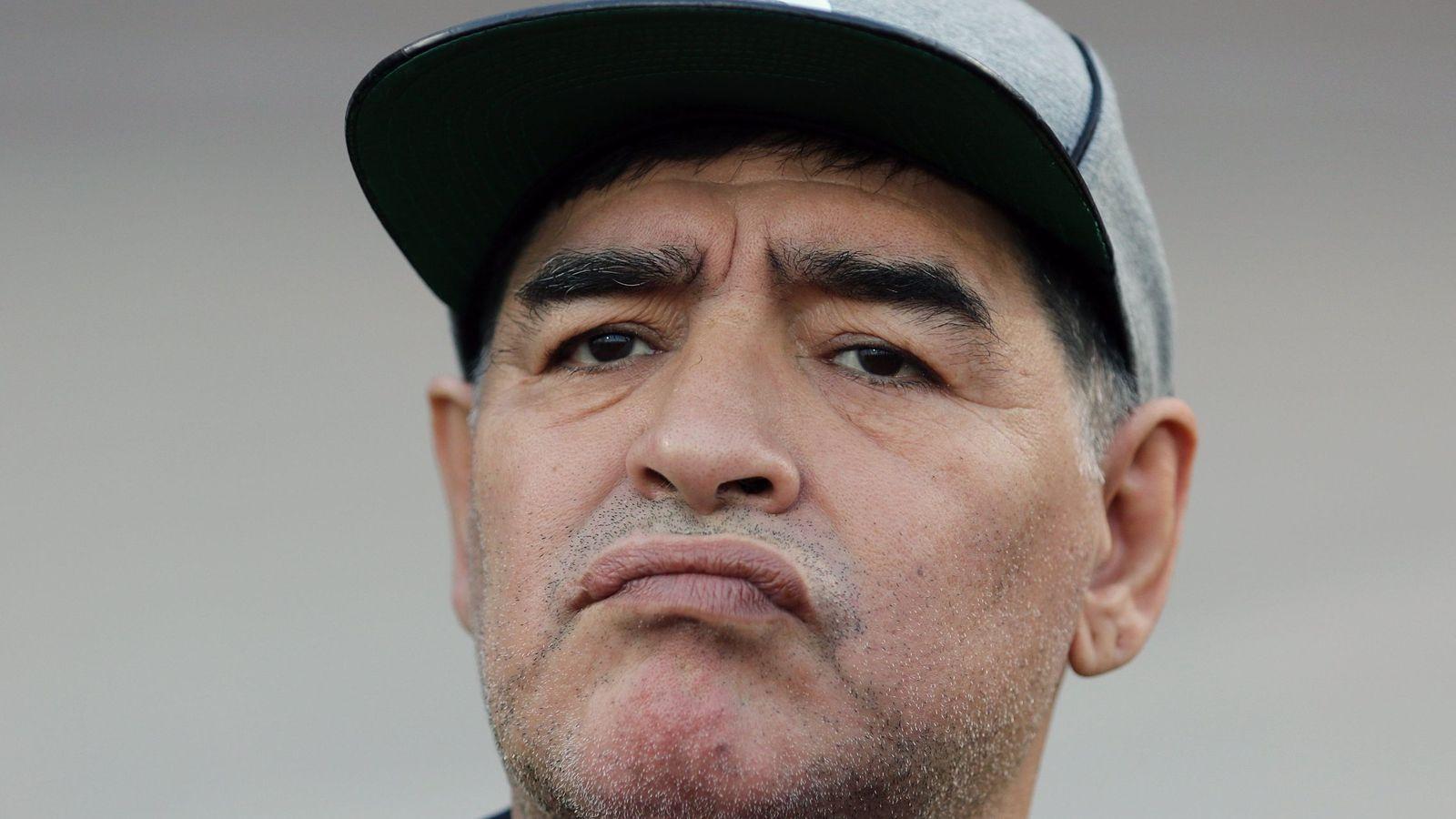 Foto: Diego Armando Maradona, a sus 57 años, será presidente del Dinamo Brest en Bielorrusia. (EFE)