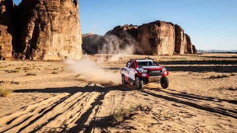 La seguridad de Fernando Alonso y su primer contacto en terreno del Rally Dakar