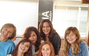 Maribel Verdú celebra su 44 cumpleaños con una 'beauty party'