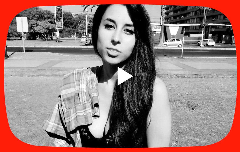 Foto: La YouTuber chilena Ballentina en un fotomontaje realizado en Vanitatis