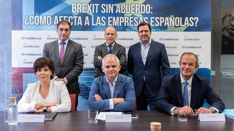 Sáenz de Santamaría: un Brexit duro será una yincana burocrática para empresas