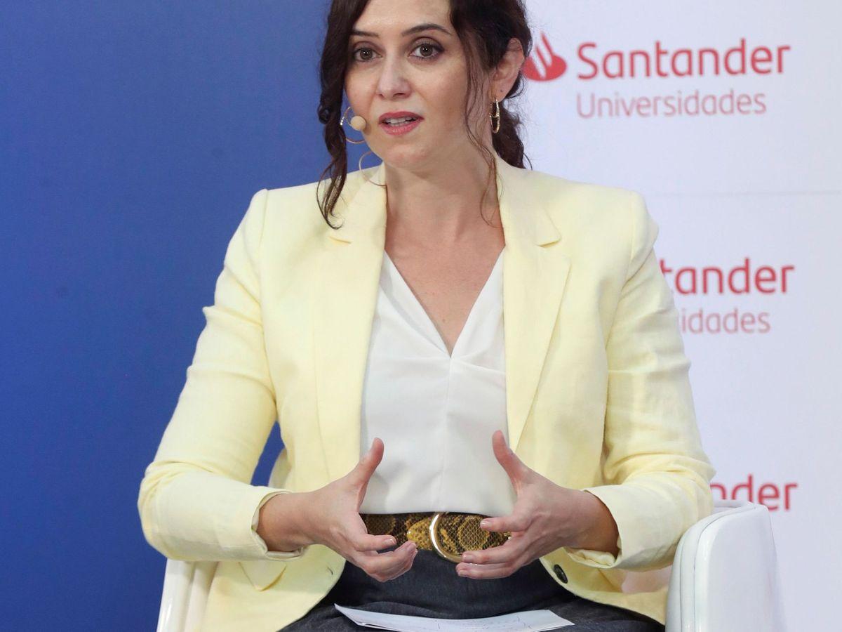 Foto: Isabel Díaz Ayuso, en una imagen de archivo. (EFE)