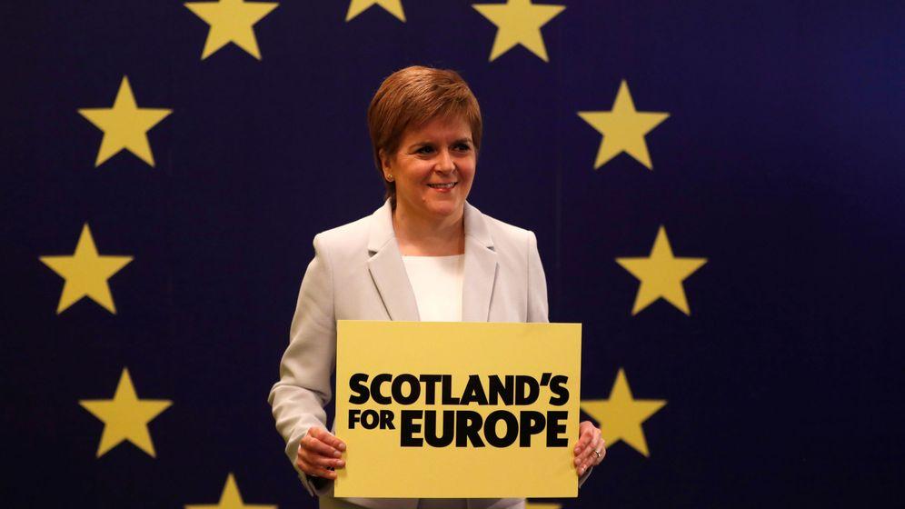 Foto: La ministra principal de Escocia, Nicola Sturgeon. (Reuters)
