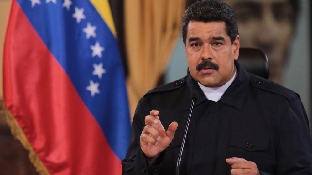 Foto: Maduro ordena cerrar la frontera con Colombia. (EFE)