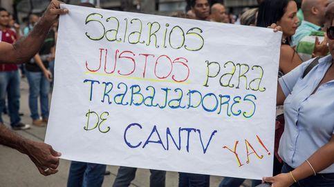 Protestas por los salarios en Venezuela