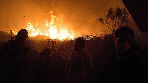 Era como estar en el cráter de un volcán: el infierno del Coruxo en mitad del fuego