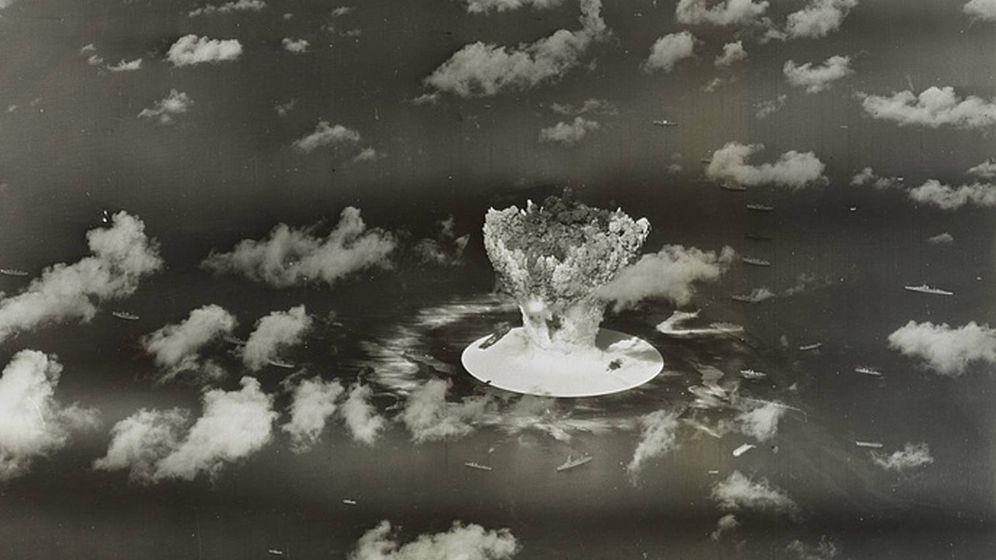 Foto: Una de las pruebas nucleares llevadas a cabo en las Islas Marshall en 1946. (Reuters)