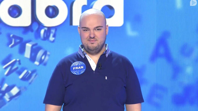 El concursante Fran González. (Mediaset)