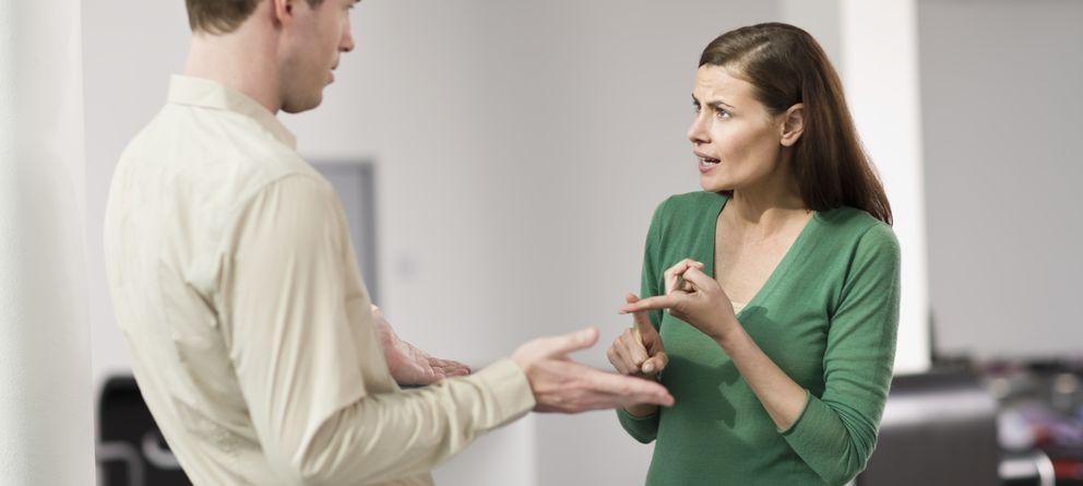 Foto: Las parejas disaster están predispuestas al enfado. (Corbis)