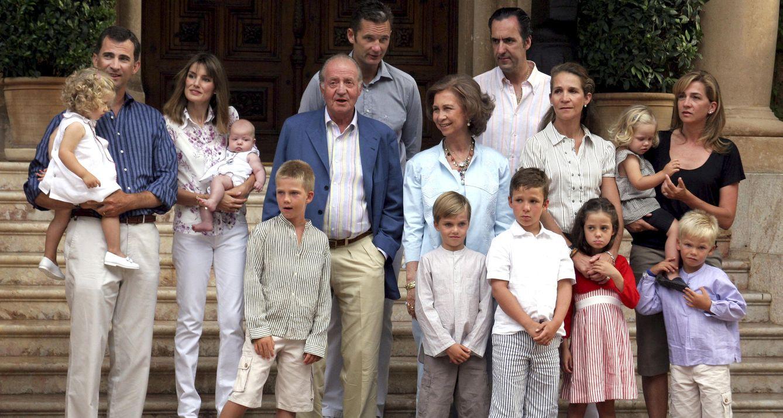 Foto: La Familia Real en 2007 (Gtres)