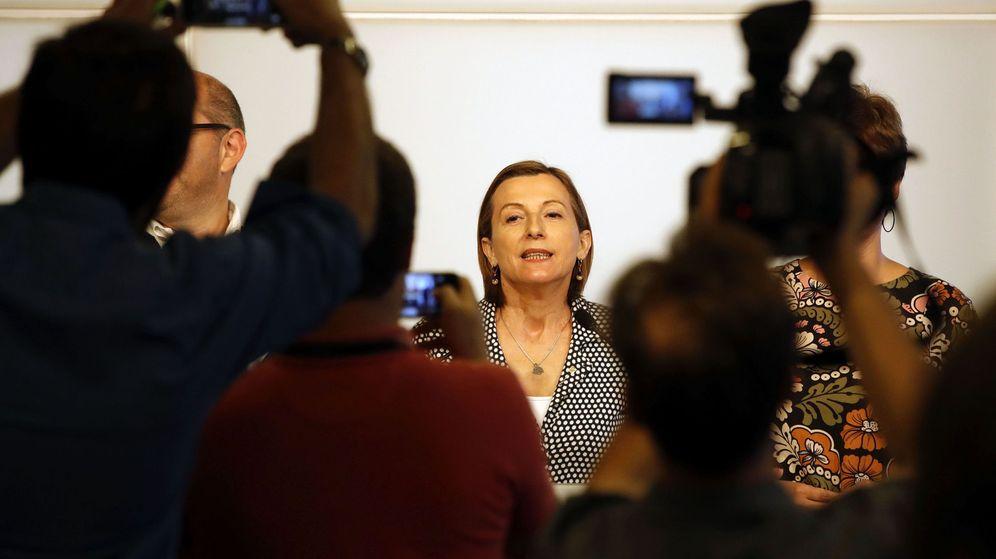 Foto: La presidenta del Parlament de Cataluña, Carme Forcadell. (EFE)
