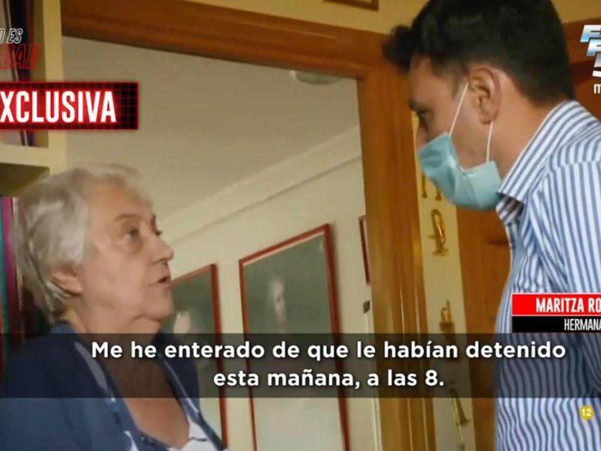 Foto: Maritza, hermana de José Luis Moreno, en 'Todo es verdad'. (Mediaset)