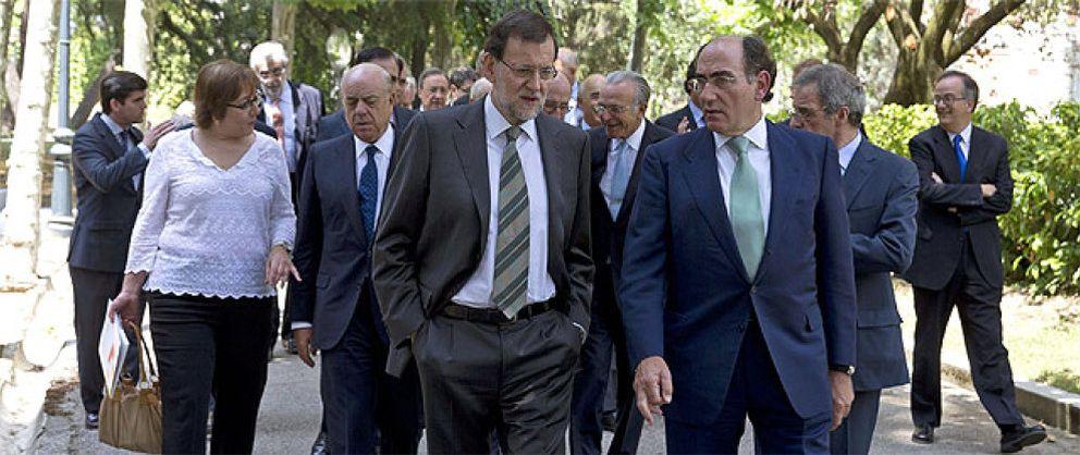 Foto: Rajoy y la élite empresarial evitan nombrar a Bárcenas en tres horas de almuerzo