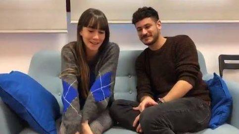 Los 'tortolitos' Aitana y Cepeda graban un vídeo para invitar a ver 'OT'