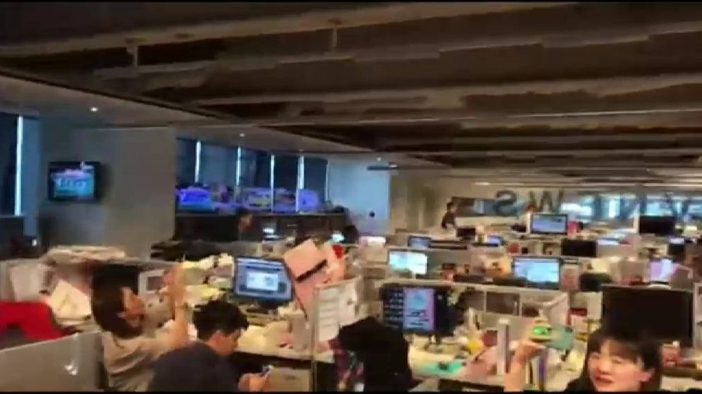 Así se ha vivido el terremoto de magnitud 6,1 que ha sacudido Taiwán