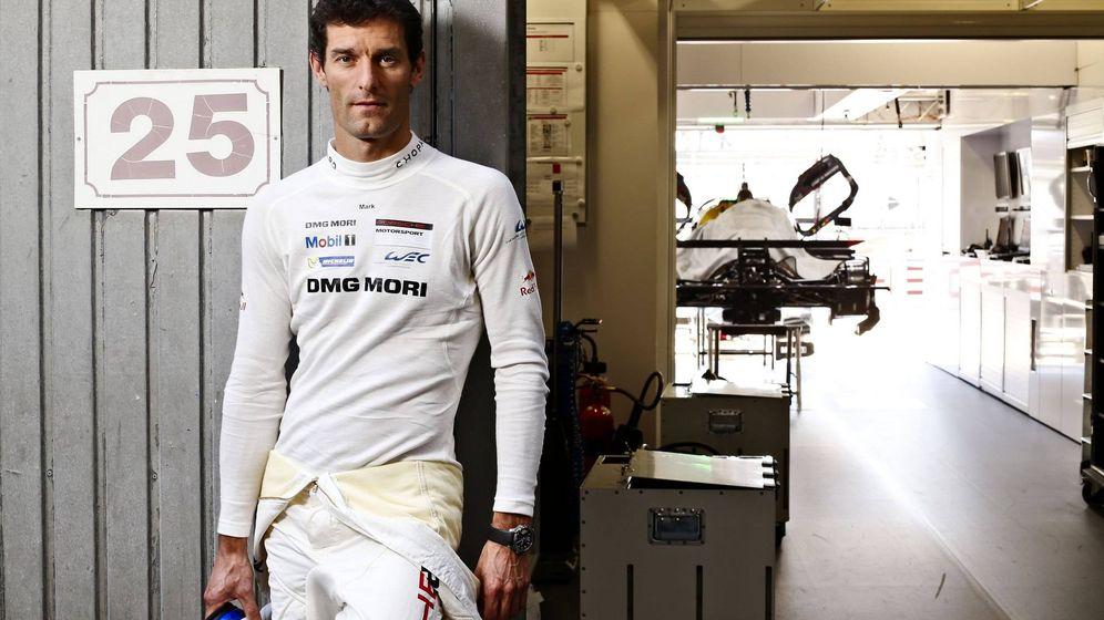 Foto: Mark Webber en su última época como piloto de resistencia.