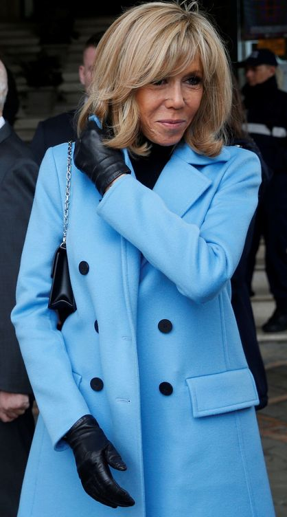 Brigitte Macron. (EFE)