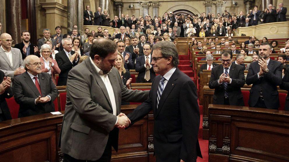 El plan de Junqueras y Mas: un referéndum... para que lo suspendan e ir a elecciones