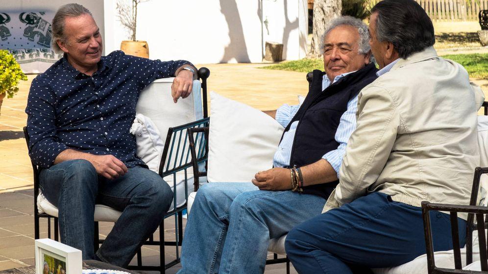 Foto: Bertín Osborne entrevista a Los del Río en 'Mi casa es la tuya'.