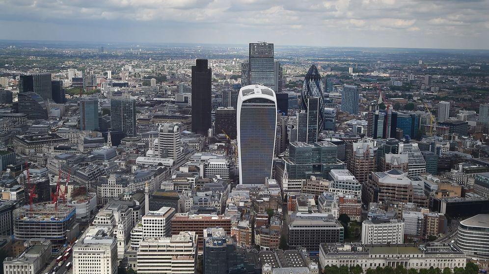 Foto: Vista general de la City de Londres. (EFE)