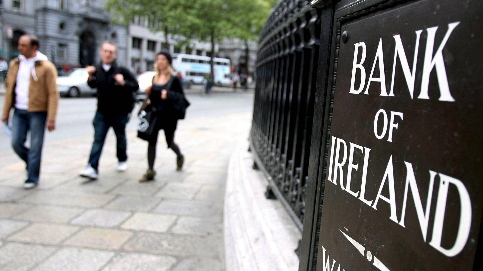 Foto: Sede de Bank of Ireland en Dublín. (EFE)