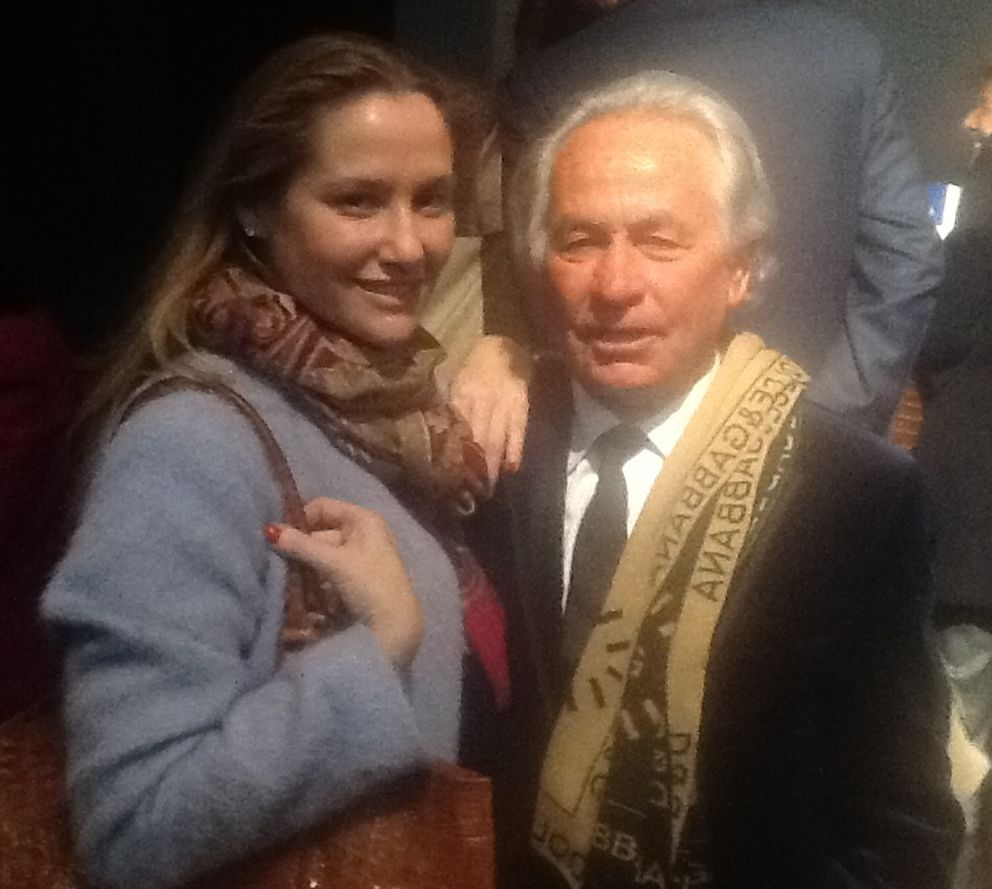 Fiona Ferrer y Sebastián Palomo Linares (Paloma Barrientos)