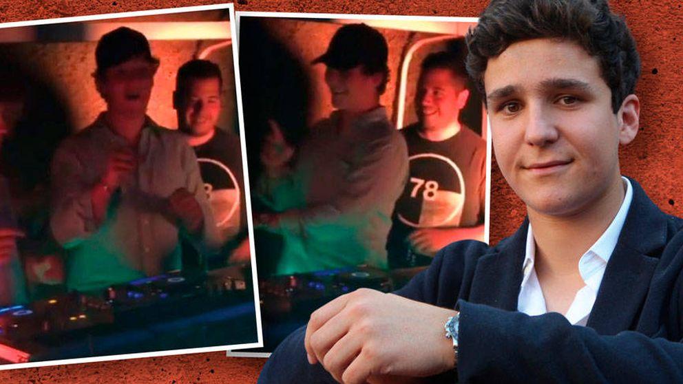 DJ y camarero, Froilán se desmelena en su fiesta sorpresa de 19 cumpleaños