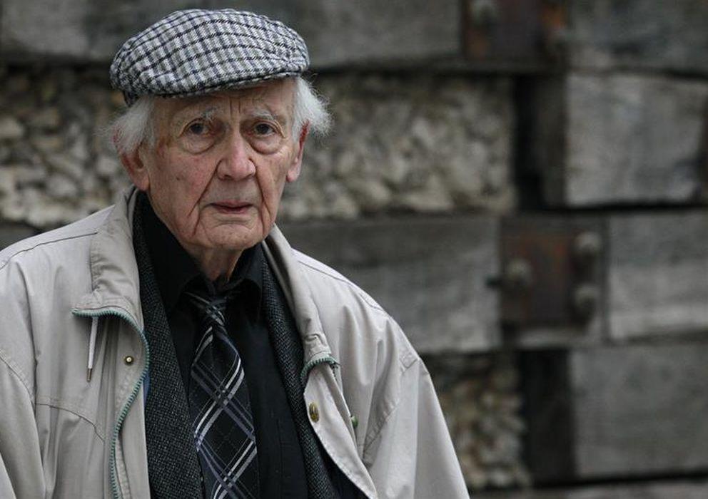 Foto: Zygmunt Bauman, durante su visita a Madrid. (Efe)