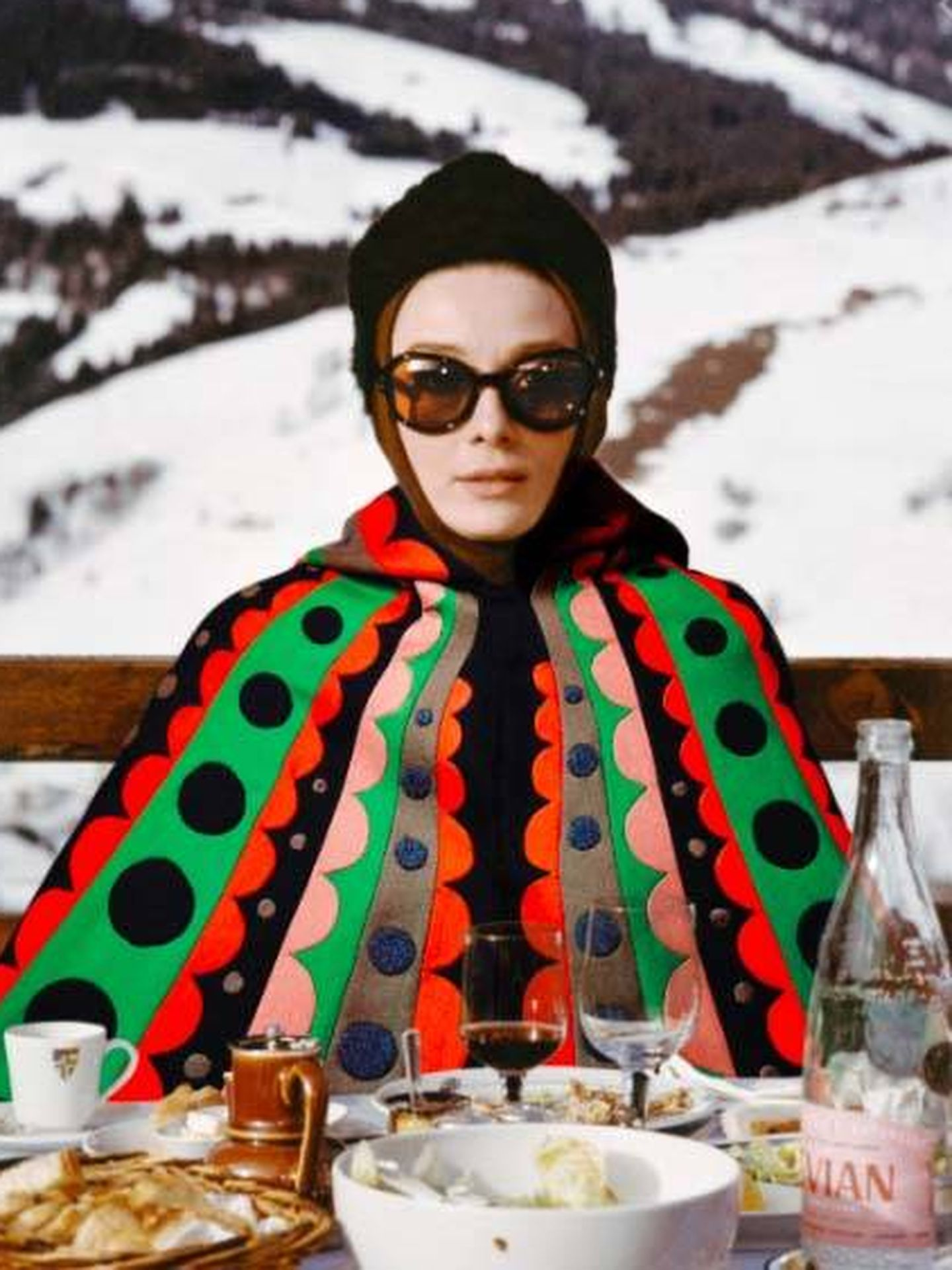 Audrey Hepburn, en 'Charada'.