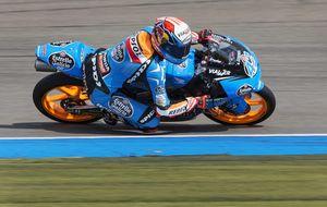 Rins busca olvidar el error de Brno con una gran vuelta que le da la pole