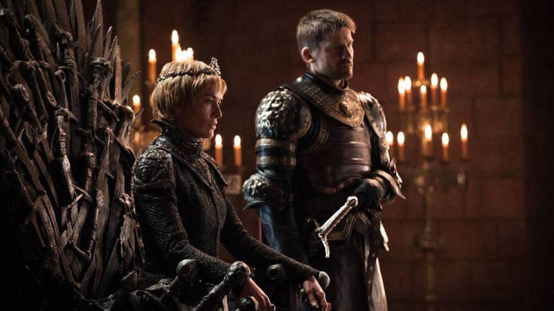Foto: Cersei y Jaime Lannister en el Trono de Hierro.