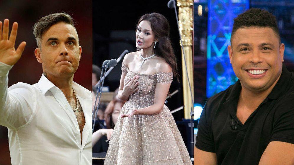 Foto: Robbie Williams, Aida Garillufina y Ronaldo serán las estrellas de la ceremonia de inauguración del Mundial de Rusia 2018
