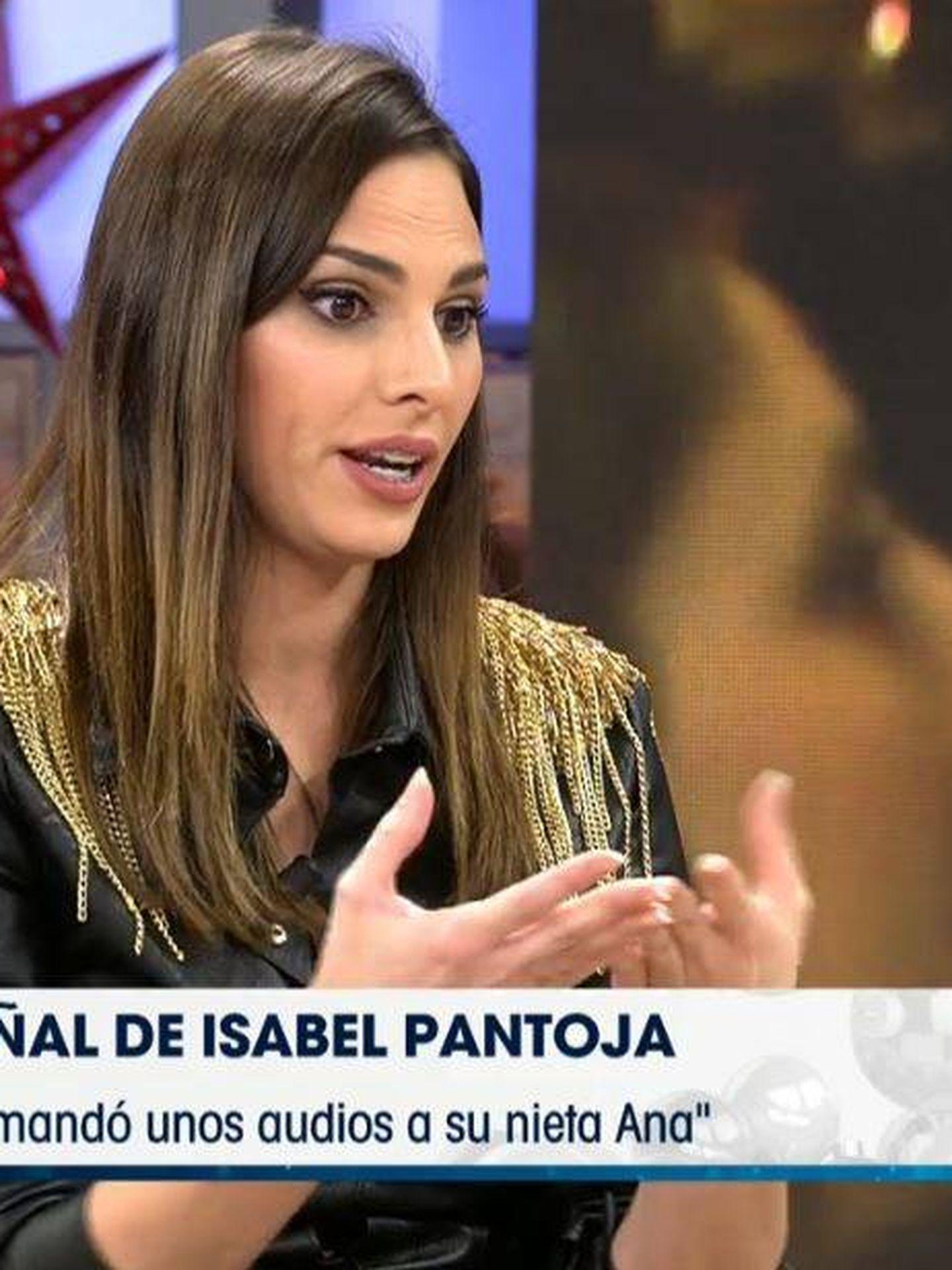 Irene Rosales en 'Viva la vida'. (Mediaset)