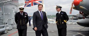 David Cameron quiere retirar las tropas británicas desplegadas en Afganistán antes de 2015