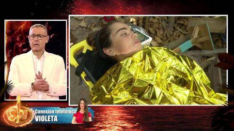 'Supervivientes' aclara la situación de la evacuada Violeta (con dardo a Dakota)