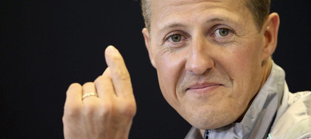 Foto: Schumacher continú su recuperación en casa