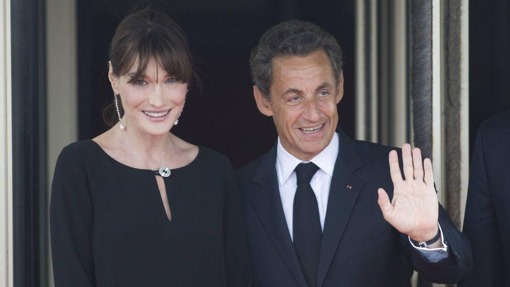 Foto: Bruni y Sarkozy en una foto de archivo. (Getty)