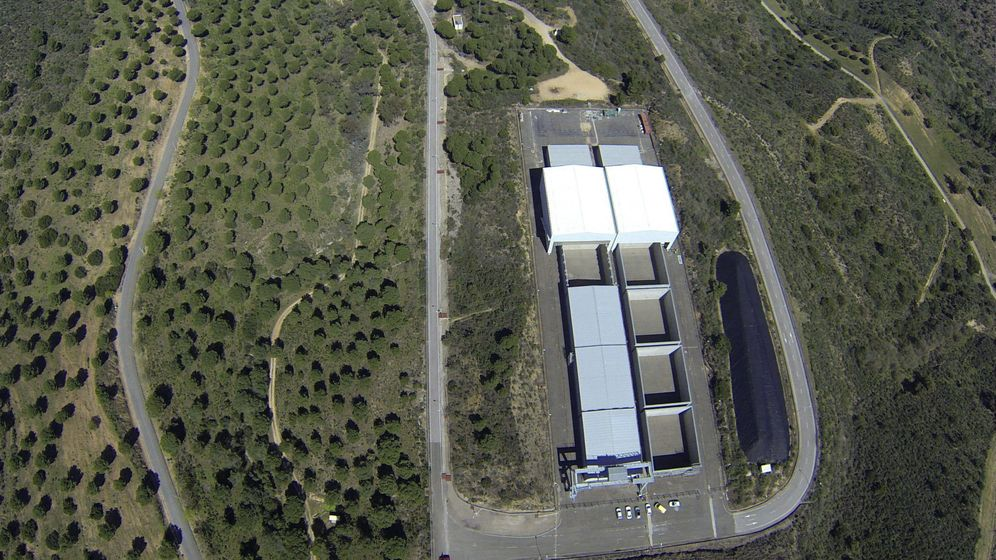 Foto: Vista aéra en 2014 del lmacén Centralizado de Residuos de Baja y Media Actividad El Cabril. (EFE)