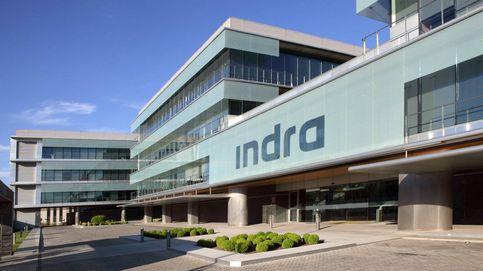 Indra encabeza las subidas en el Ibex 35 y cierra con un alza del 9,58%