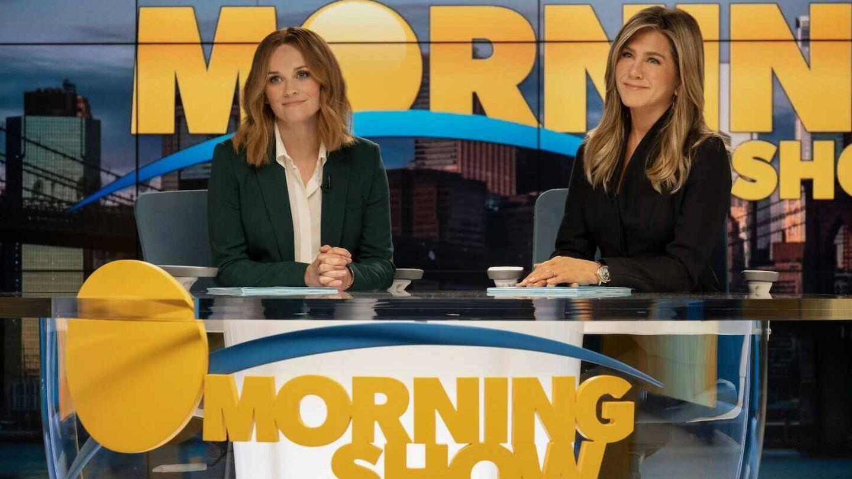 Las protagonistas de 'The morning show'. (Apple TV)