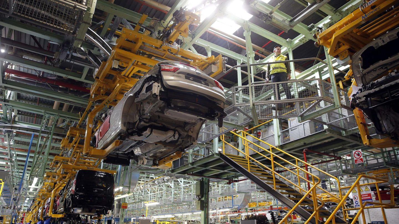 La línea de producción de Ford Almussafes. (EFE)