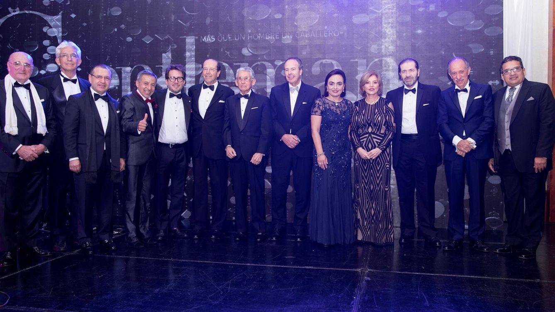 Foto: En la imagen, los premiados con los Gentleman Awards 2018.