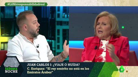 Maestre regresa a 'La Sexta noche' con bronca por el escándalo de Juan Carlos