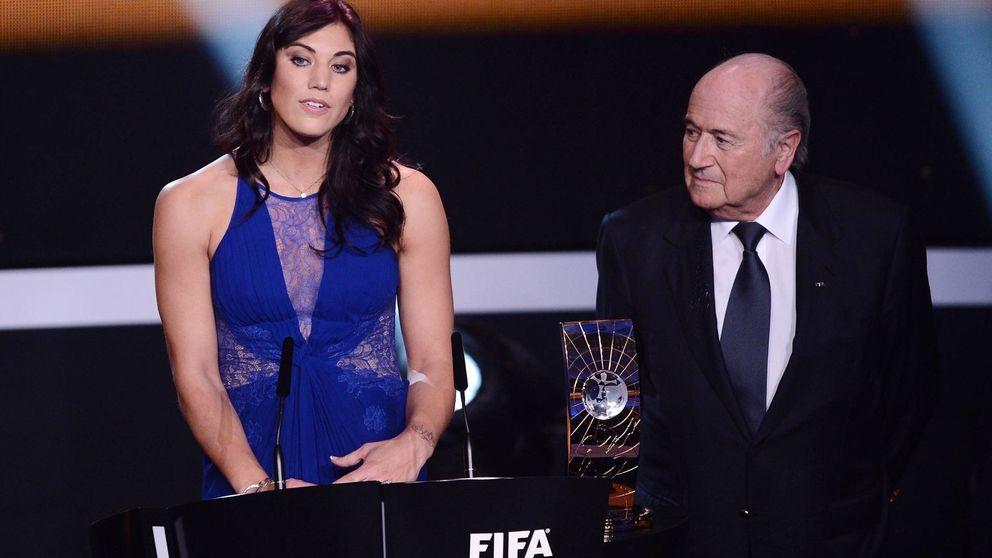 Hope Solo, portera de Estados Unidos, acusa a Joseph Blatter de abuso sexual