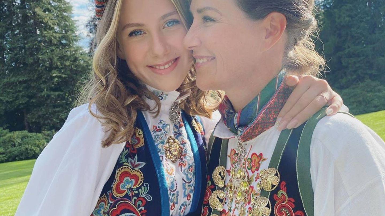 Marta Luisa de Noruega y su hija Leah. (Instagram @iam_marthalouise)