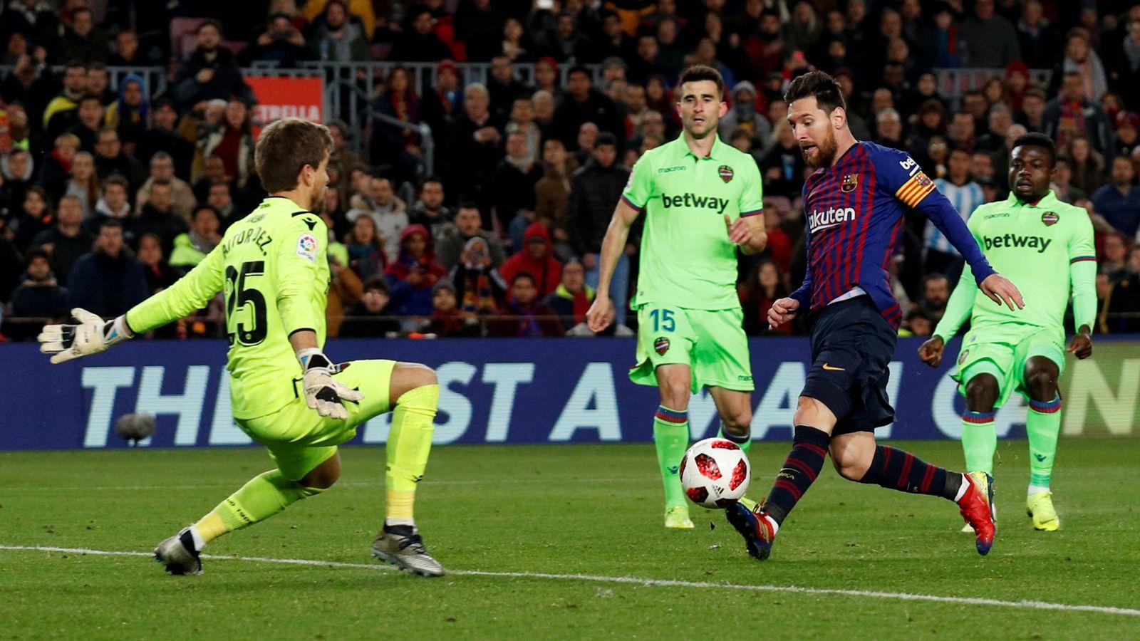 Foto: Copa del rey - round of 16 - second leg - fc barcelona v levante