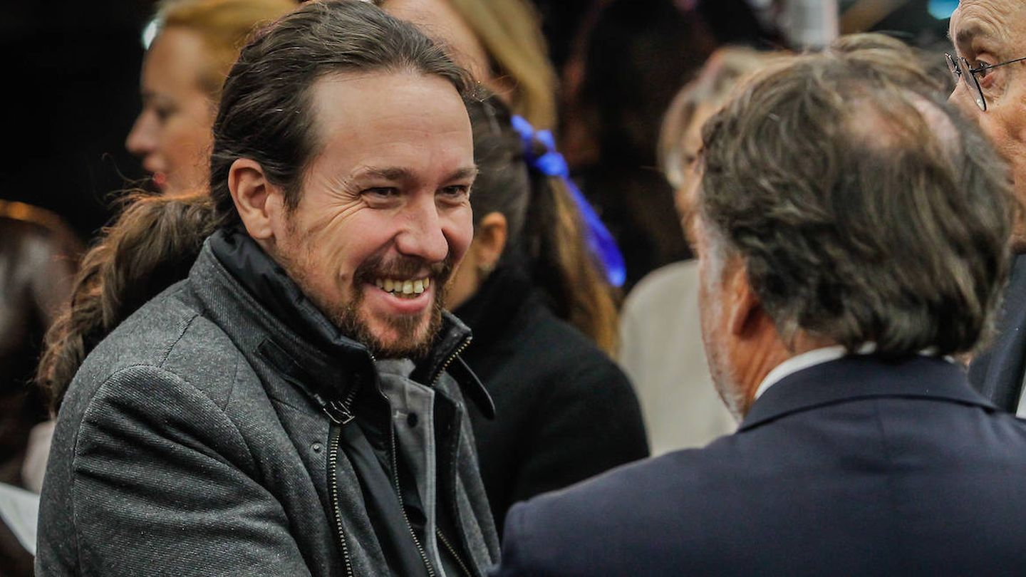 Pablo Iglesias. (Limited Pictures)