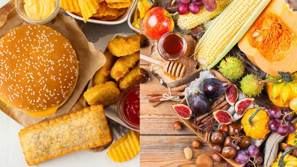 Los alimentos más sanos para sustituir a las comidas calóricas