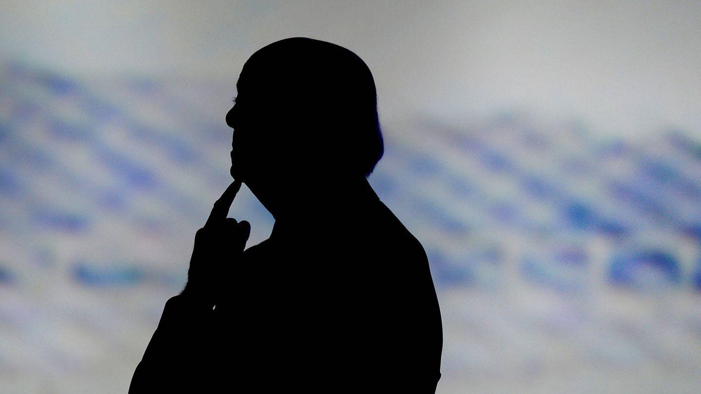 Francisco González, en un momento de una junta general de accionistas. (Reuters)